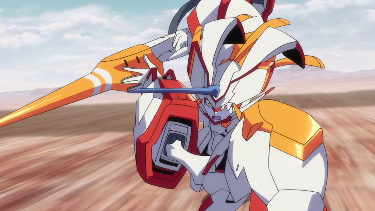 Image result for darling in the franxx mecha
