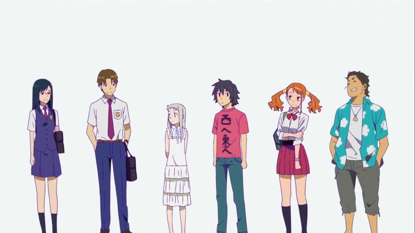My Shiny Toy Robots: Anime REVIEW: AnoHana: The Flower We Saw That Day